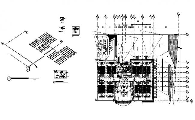 hall lighting diagram