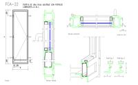 Door Detail Plan & Full Glass Double Doors Sc 1 St Bespoke ...
