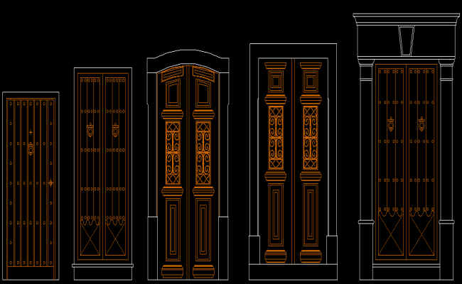 Traditional Door Design