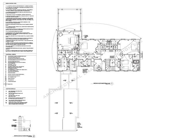 electrical plan layout 2 \u2013 Architectural Drafting + Design LLC