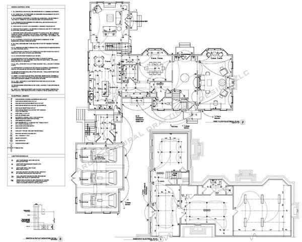 electrical plan layout \u2013 Architectural Drafting + Design LLC
