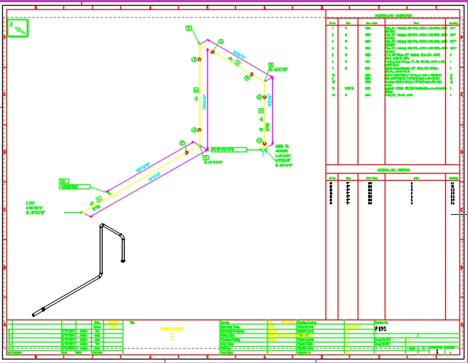 Plant Equipment  Pipeline Planning Software