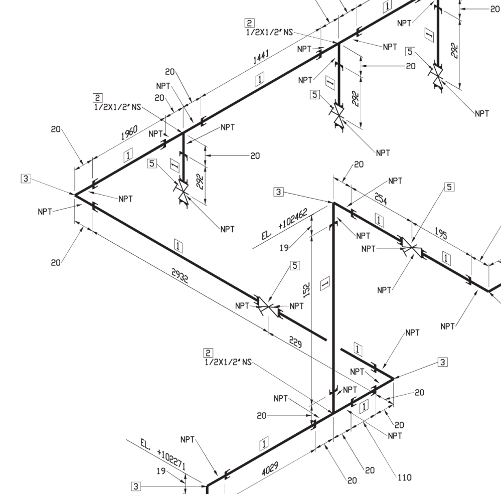 piping schematics in solidworks