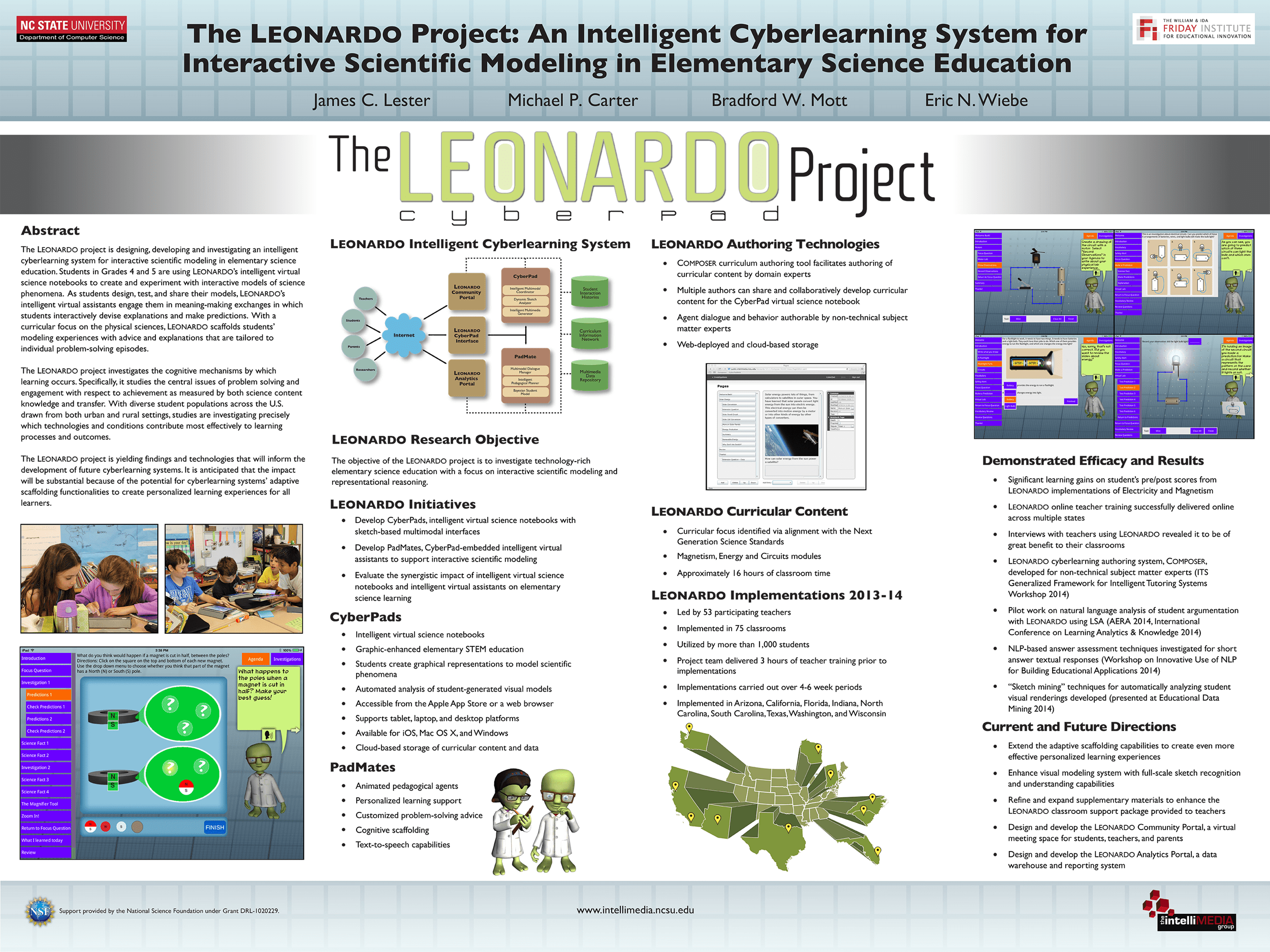 Cadre Photo Magnet The Leonardo Project An Intelligent Cyberlearning System For