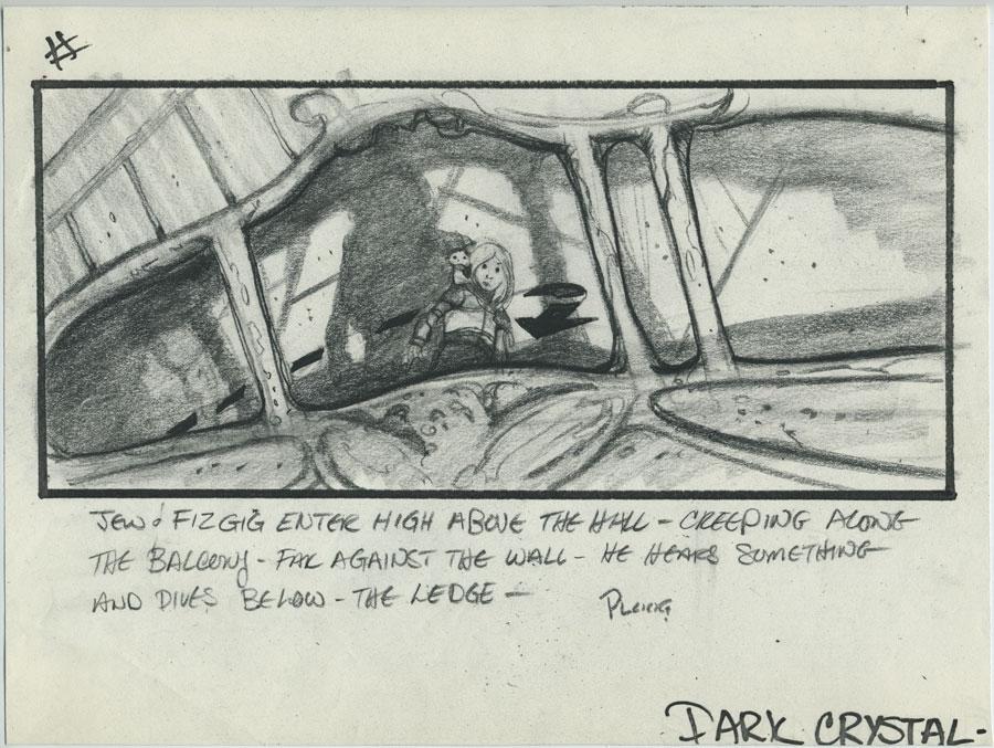 Mike Ploog  The Dark Crystal film storyboard, in Trent C\u0027s