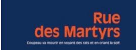 Promenade le long de l 39 histoire rue des martyrs for Le miroir rue des martyrs