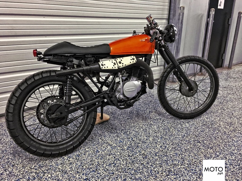 Suzuki Ts185 Cafe Racer Auto Electrical Wiring Diagram For Ts 185