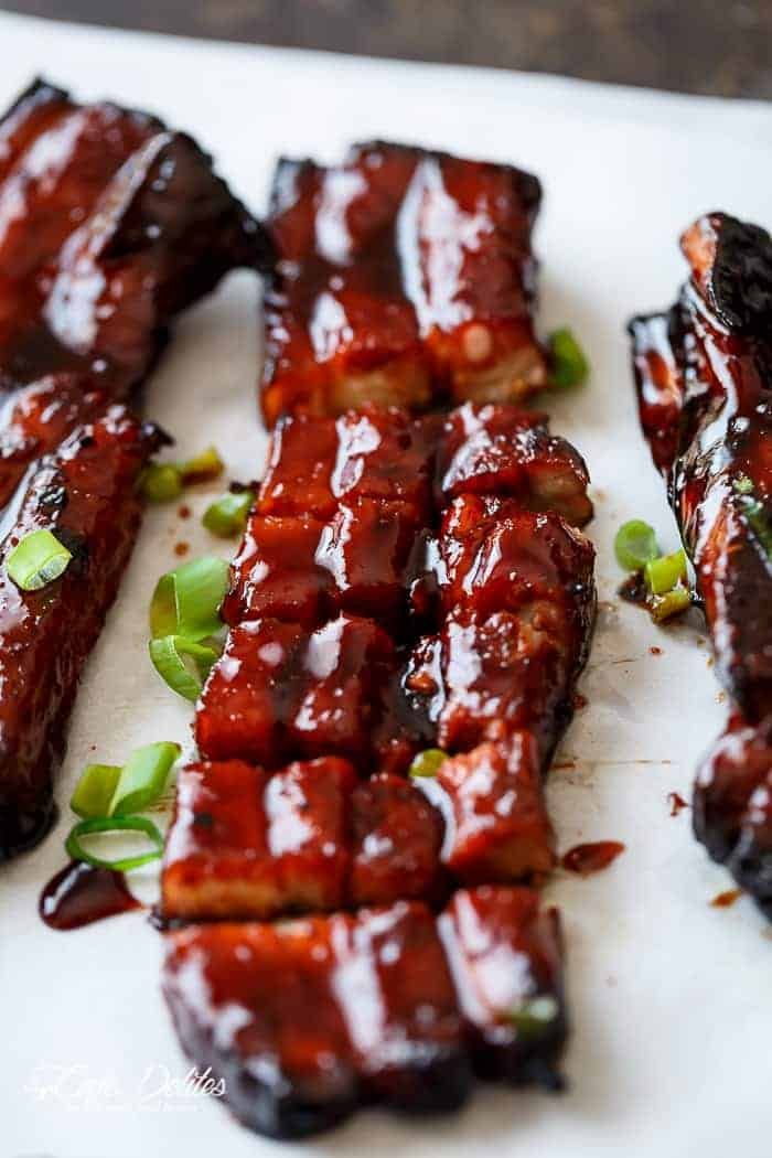 ... and drizzle with extra Char Siu sauce…ring in the new year in style