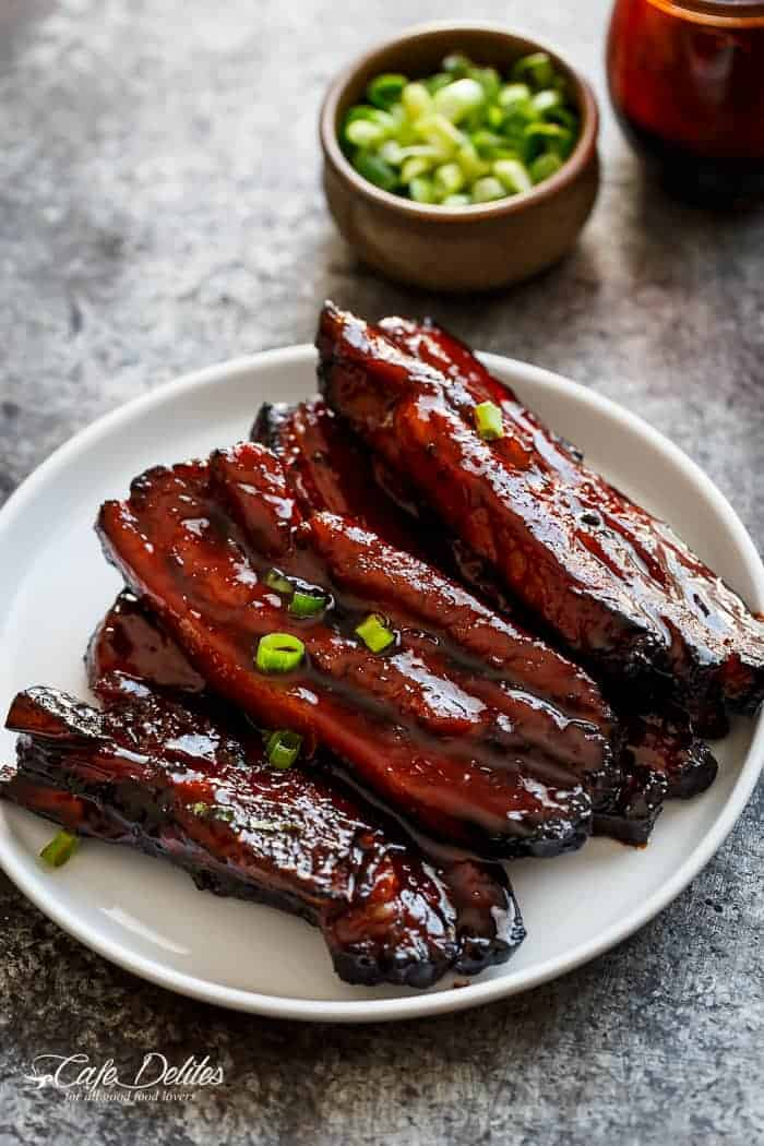 ... bbq pork belly ribs char siu save print char siu or chinese bbq