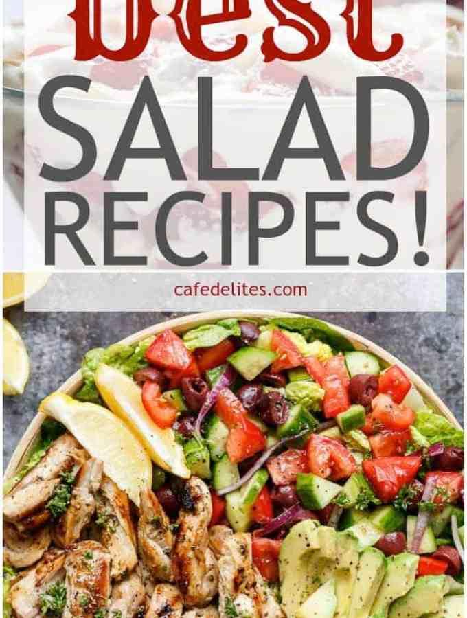 18 Best Salad Recipes | http://cafedelites.com