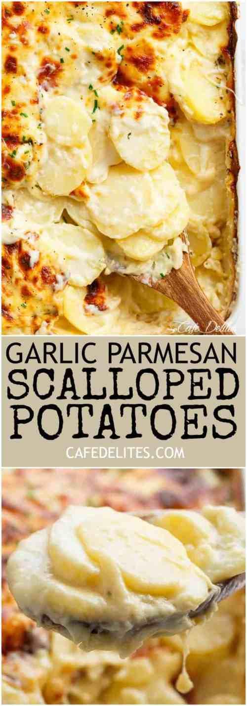 Medium Of Garlic Parmesan Potatoes