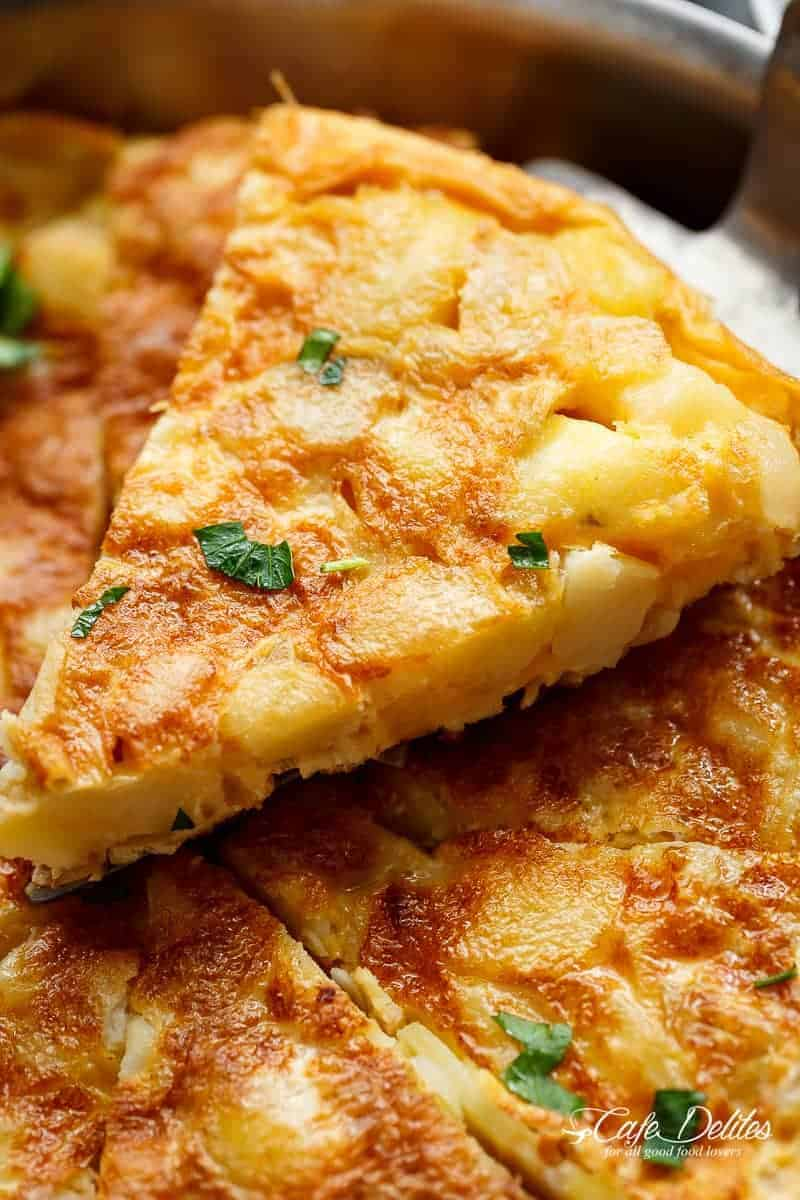 Original Spanische Tortilla Spanish Potato Omelette Spanish Tortilla