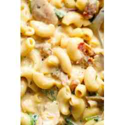 Small Crop Of Tuscan Chicken Mac And Cheese