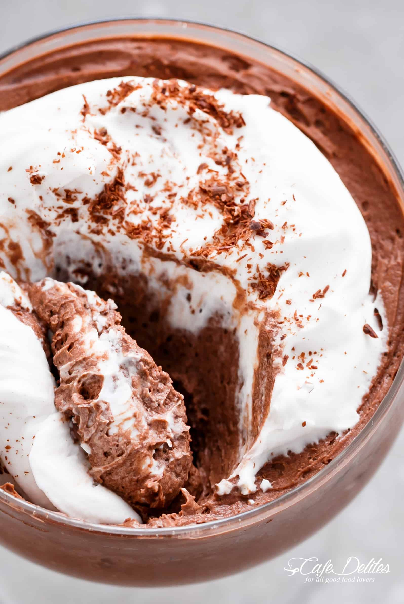 Recettes Faciles Keto 3 Ingredient Chocolate Mousse Low Carb
