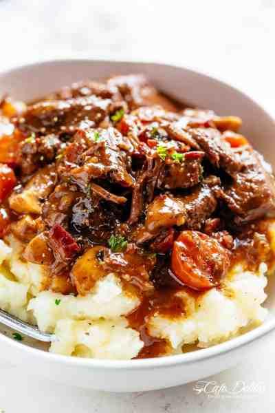 Beef Bourguignon (Julia Child Recipe) - Cafe Delites