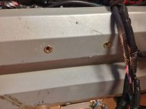 Riv-Nuts are handy for aluminum sheet mounting.