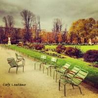 Paris'in Parkları Bahçeleri...