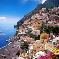İtalya'nın sahilleri: Positano, Praiano, Amalfi