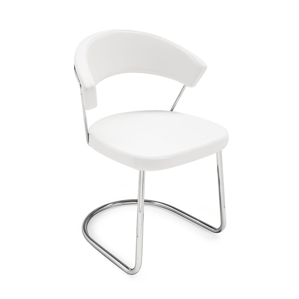 Sedia Calligaris New York Tortora Connubia By Calligaris Sedia New York Oscillante Con
