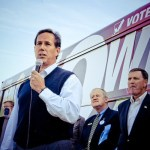 Rick Santorum Helps Kick Off No Wiggins Tour in Iowa