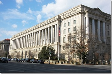 IRS Headquarters in DC