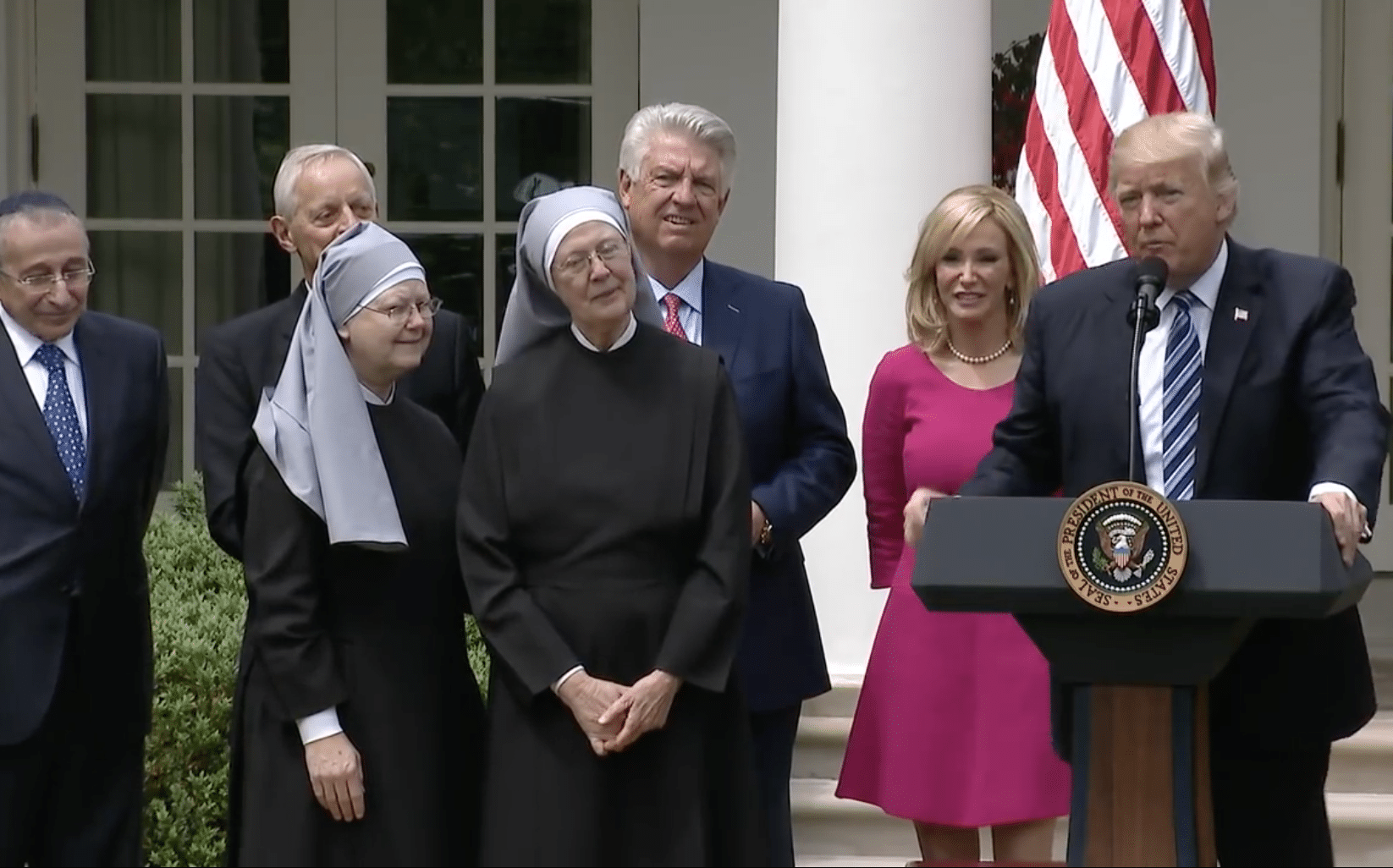 Trump administration draft rule rolls back birth-control coverage for religious employers