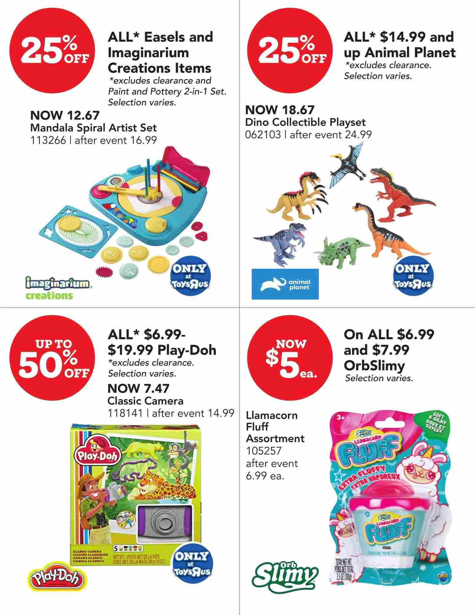 Toys R Us Flyer On January 23 February 5 2020