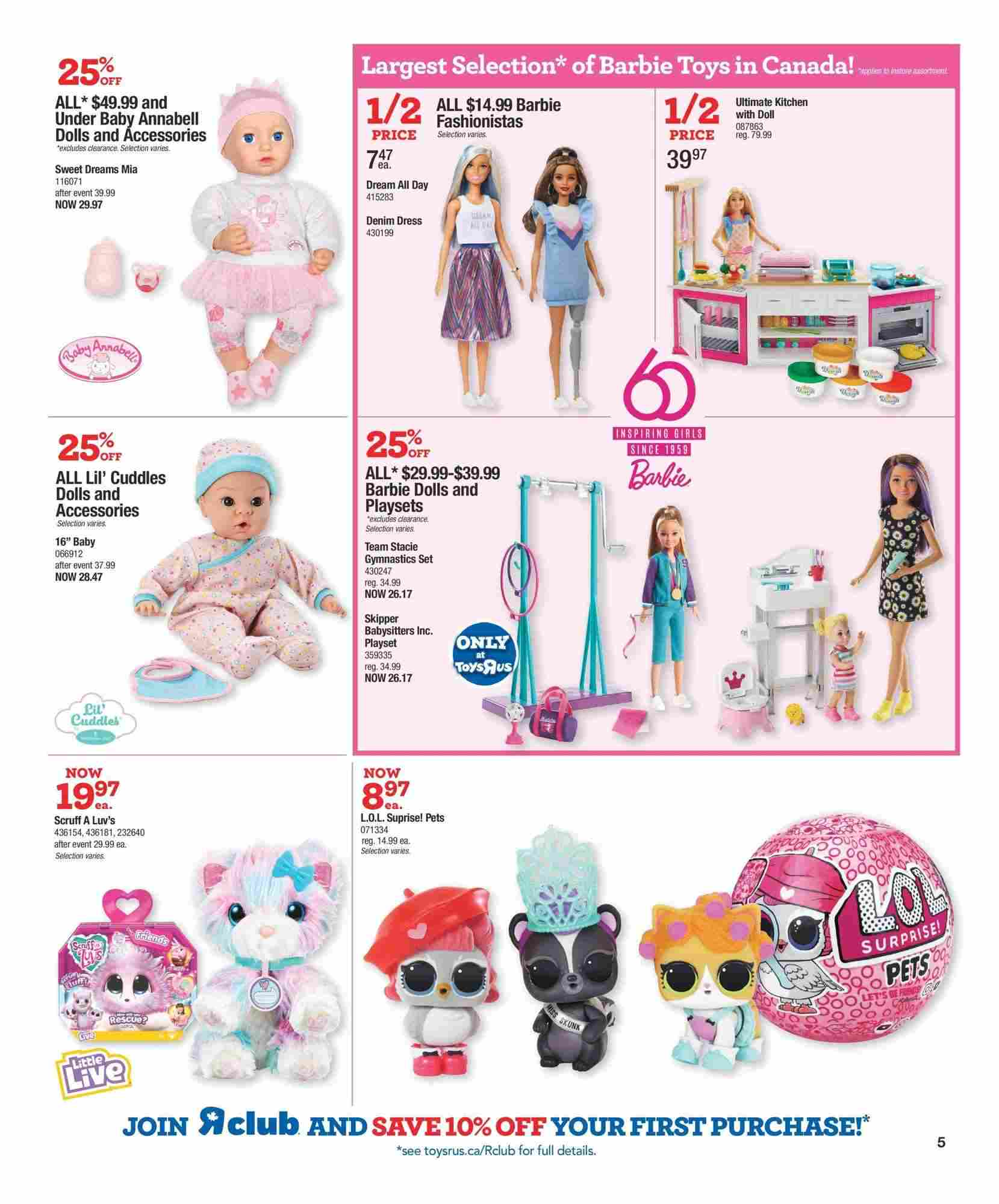 Toys R Us Flyer On October 10 16 2019