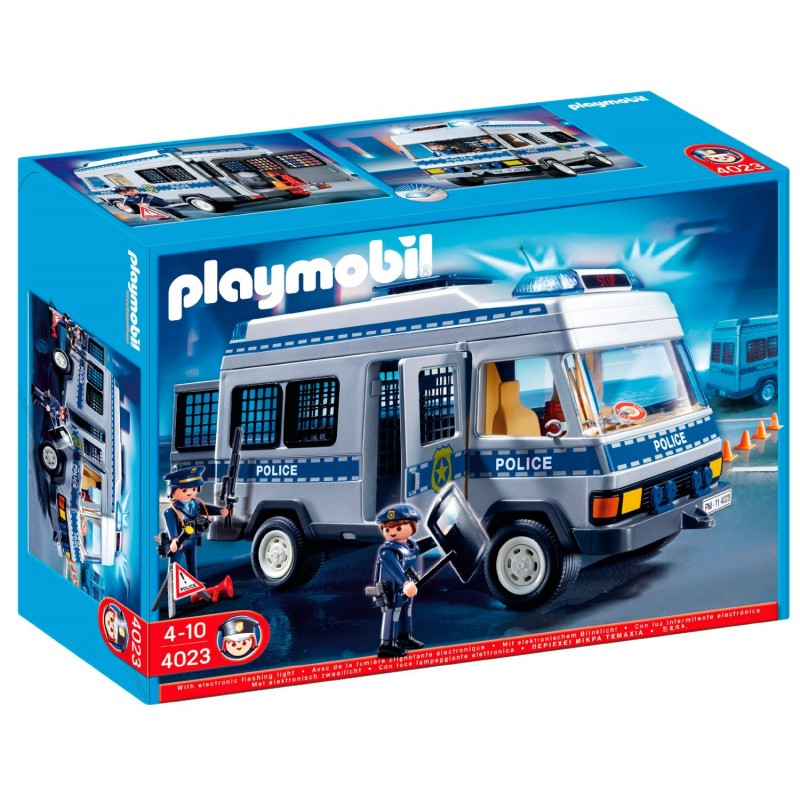 Playmobil 4806 Neuf ! Playmobil 4023 - Jeu De Construction - Fourgon