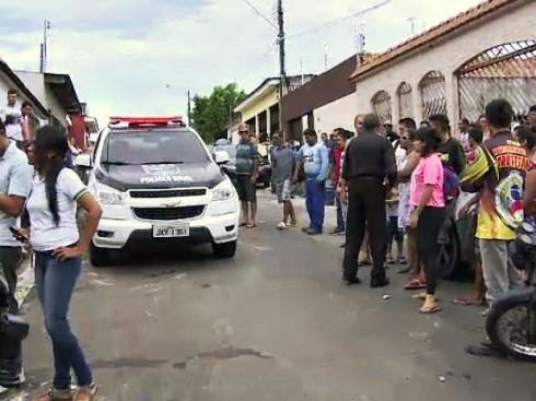Crime ocorreu no bairro Nova Cidade, na Zona Norte de Manaus (Foto: Reprodução/Rede Amazônica)