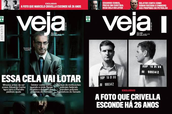 Nova edição da VEJA. Foto: Reprodução/VEJA