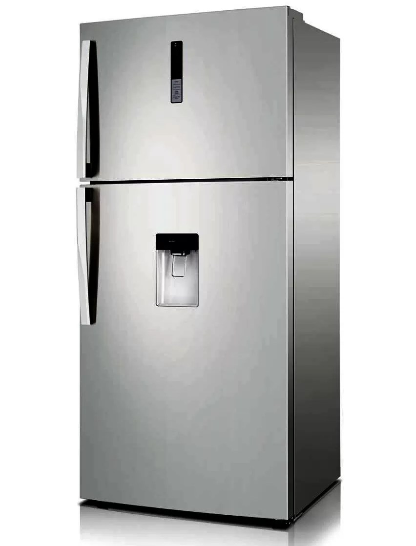 No Frost Samsung Refrigerator 585 Liter No Frost Digital With Water Dispenser Stainless Rt58k7150sp Mr Prices Features In Egypt Free H