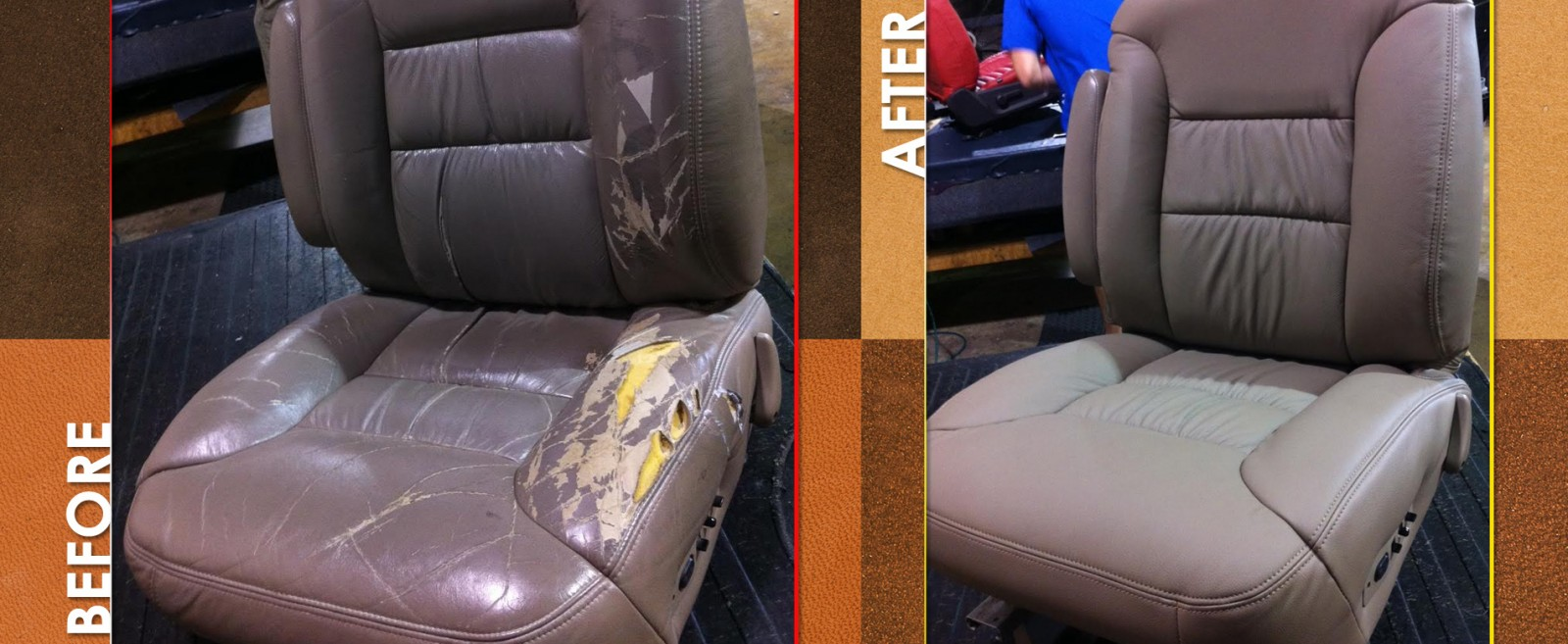 Auto Couch Cajun Color S Leather Specialties