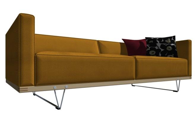 V-Wood sofa