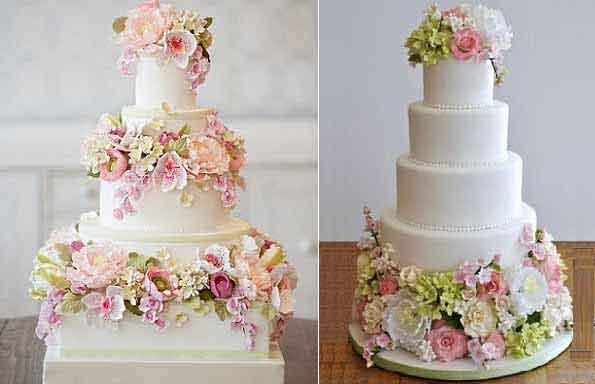 English Garden Wedding Cakes Cake Geek Magazine