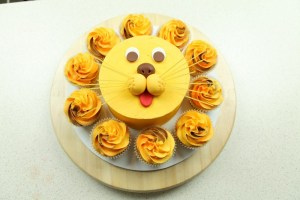 Little Lion Smash Cake