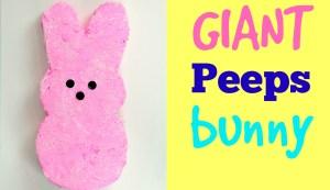 """Giant """"Peeps"""" bunny"""