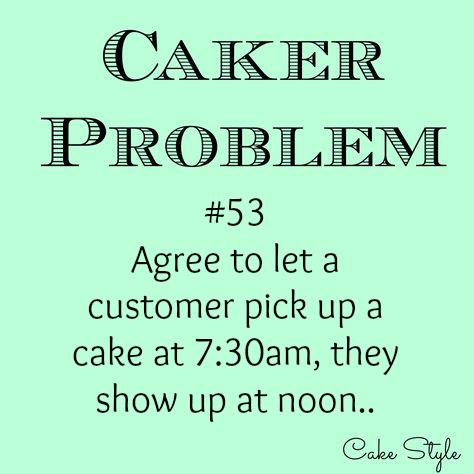 caker problem #53