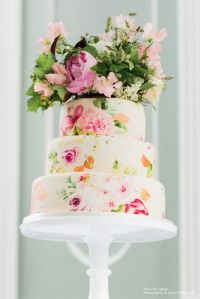 Top 10 Hand Painted Floral Cakes