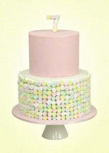 Cute Marshmallow Cake