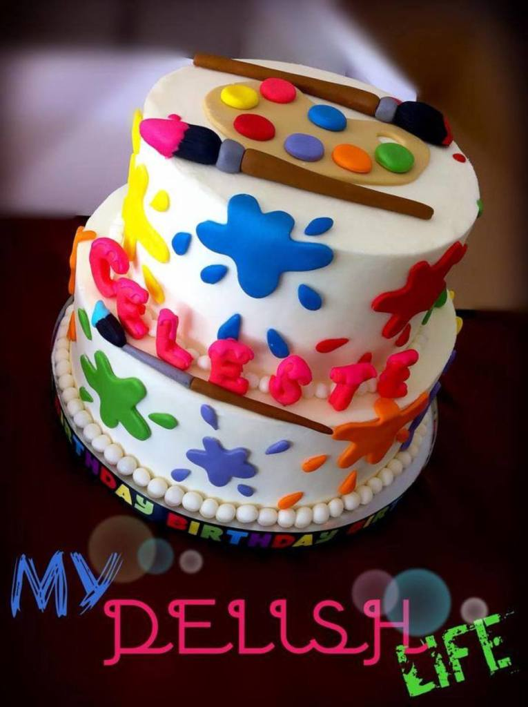Cake Similar Artists : Cakes For The Aspiring Artist - Cake Style
