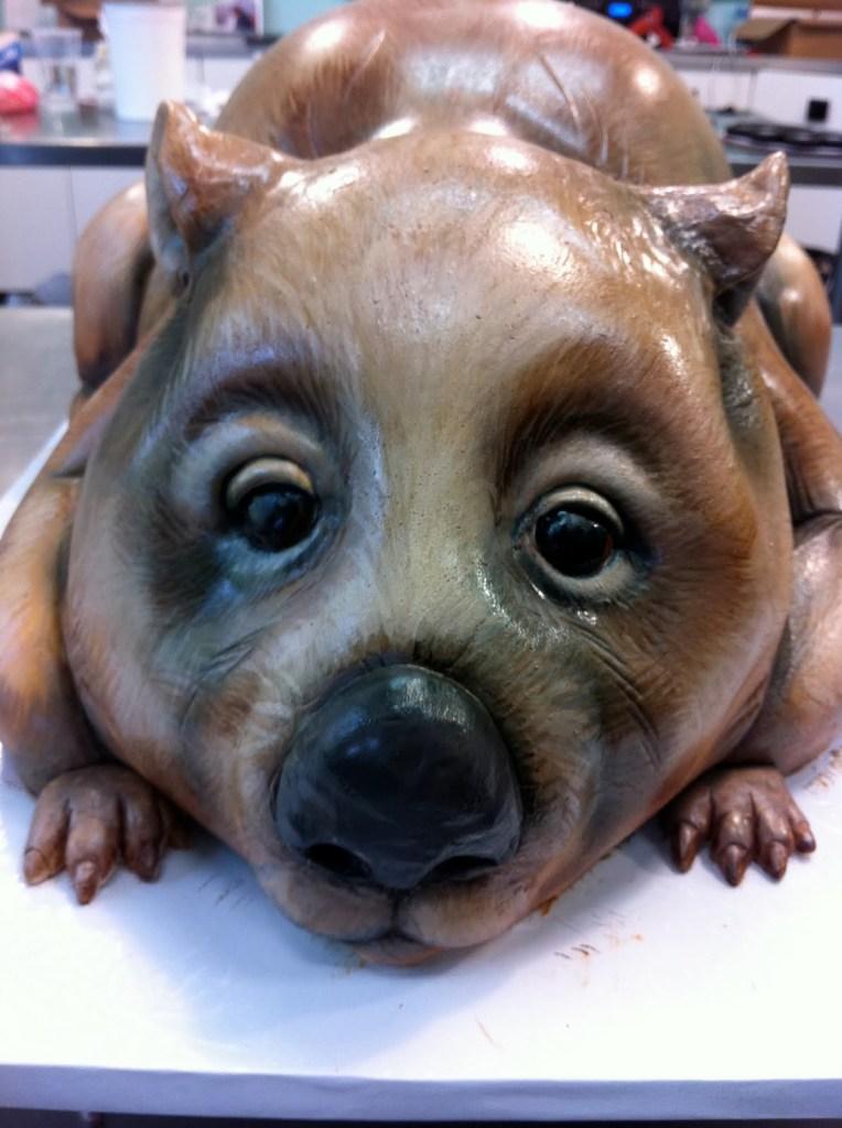wombat cake