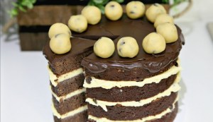 Choc Chip Cookie Dough Cake