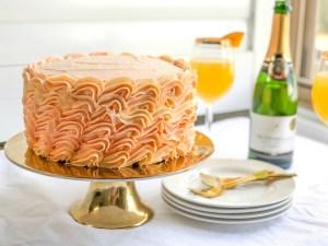 Grapefruit Mimosa Cake