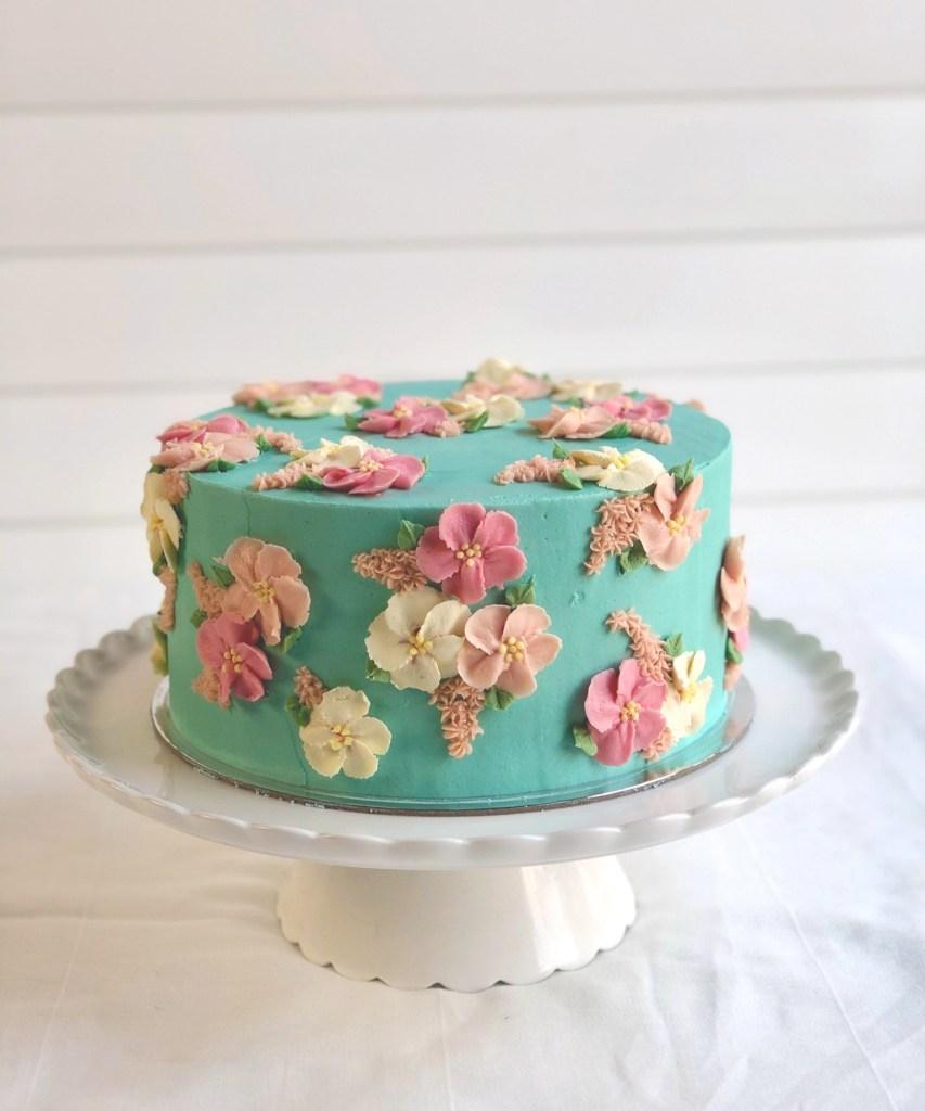 Blossom Flower Cake 2