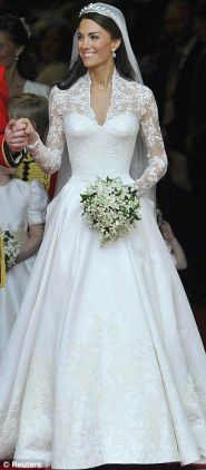 Kate Middleton - Wedding Dress