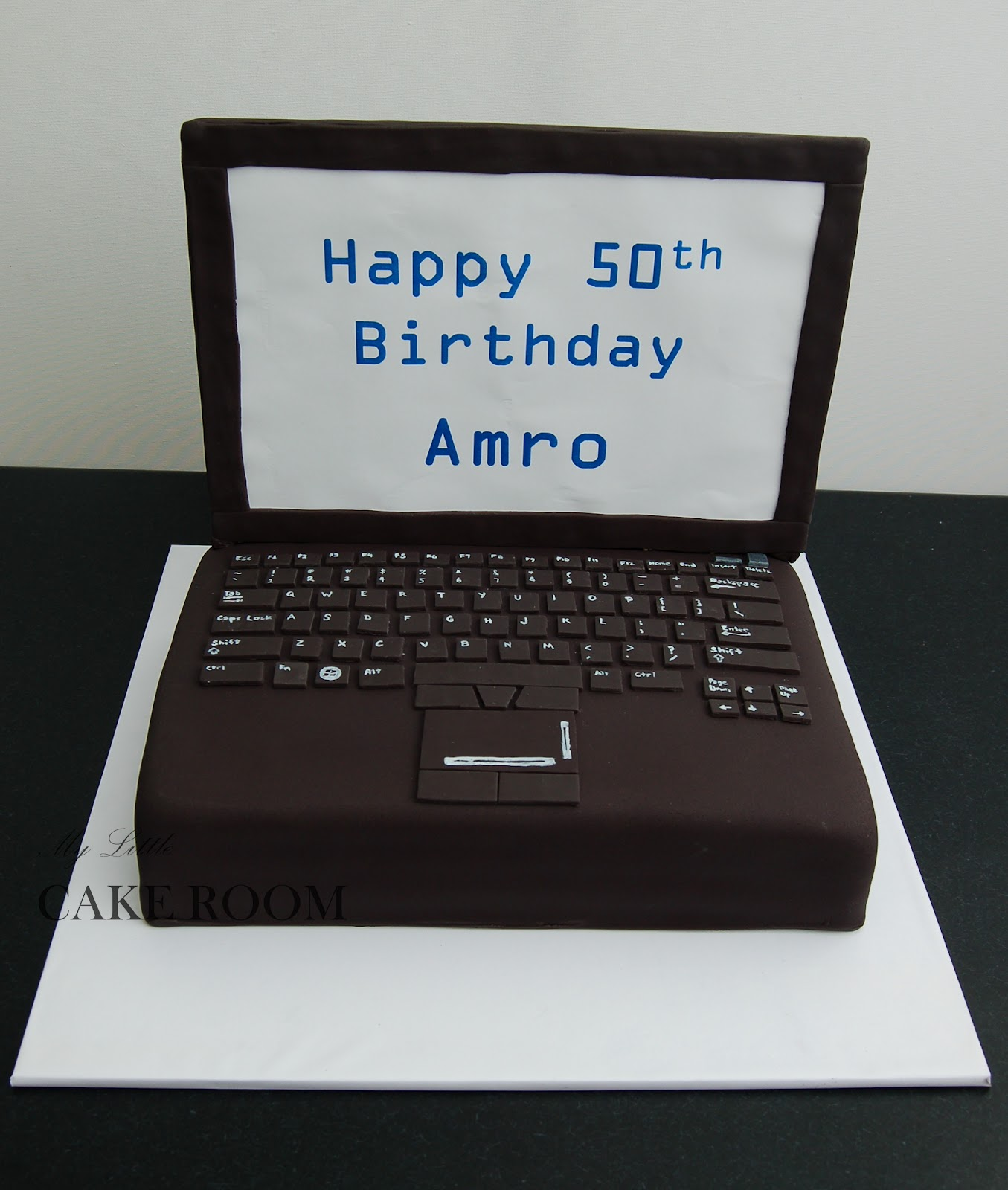 Decoration Ordinateur Laptop Birthday Cakes