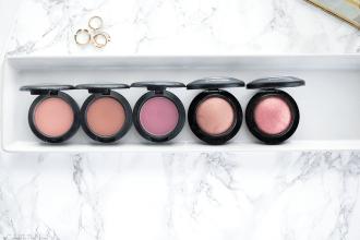 5 MAC blushes for medium skin