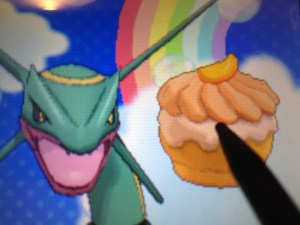 Rayquaza Really wants that Deluxe Citrus Puff!