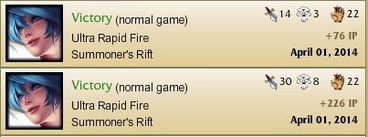 Mypersonal best games so far with Sona in URF